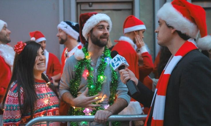 What does Santa Claus think of climate change? Are the elves and reindeer feeling the effects at the North Pole? We took to the streets during SantaCon NYC to find out.