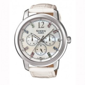 Buy Casio Ladies Watch: SHE-3802L-7ADR  in India online. Free Shipping in India. Latest Casio Ladies Watch: SHE-3802L-7ADR  at best prices in India.