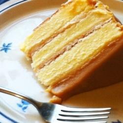 Real Deal Caramel Cake