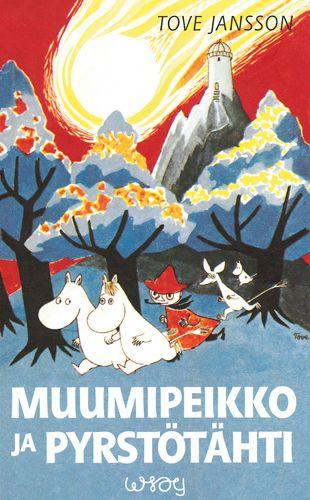 1946 Toinen kirja, Muumipeikko ja pyrstötähti (ruotsiksi Kometjakten) julkaistaan. Muumipeikko ja pyrstötähti -kirjaa pidetään yleisesti sarjan ensimmäisenä osana koska siinä esitellään ensimmäistä kertaa monet hahmoista, kuten Nuuskamuikkunen ja Niiskuneiti ja kirja sijoittuu Muumilaaksoon.