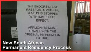 New #South #African #Permanent #Residency #Process