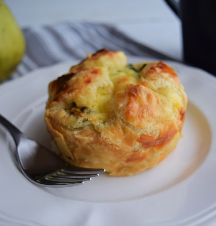 Spinach-and-bacon-egg-soufflé like Panera