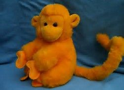 Image result for orange monkey with long tail