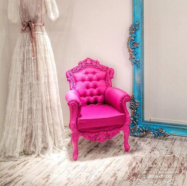Кресло в стиле барокко , мебель из дерева в Киеве