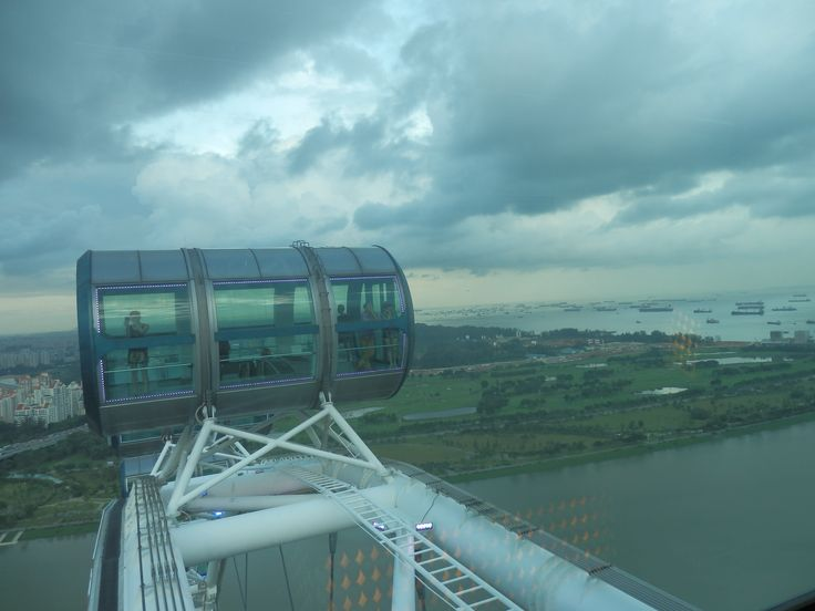 The Singapore Flyer is a great way to see the city of Singapore