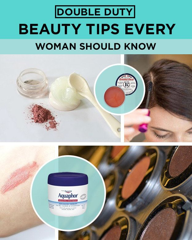 19 Impossibly Genius Double Duty Beauty Tips