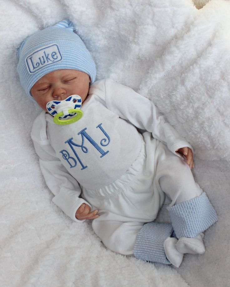 Baby Boy Coming Home from the Hospital. Monogram Bodysuit. Pants with Seersucker cuff. Coming Home from Hospital. Newborn Baby Boy Outfit by BabySpeakBoutique on Etsy https://www.etsy.com/listing/203084834/baby-boy-coming-home-from-the-hospital