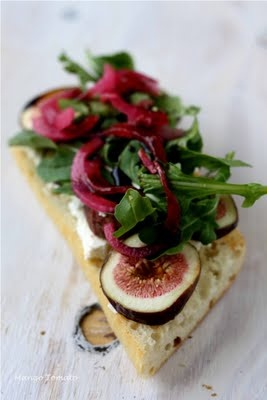 ... diet meals figs goat cheese goats bon appetit forward fig and goat