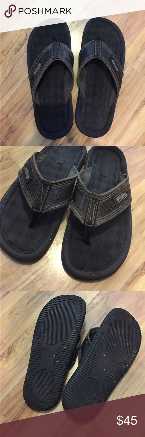 Rider Men's Flip Flops Size 11 Worn lightly for 1 month. These have much life left in them! Super comfortable. Rider Shoes Sandals & Flip-Flops