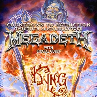 Concert Review: Megadeth - Countdown to Extinction 20th Anniversary