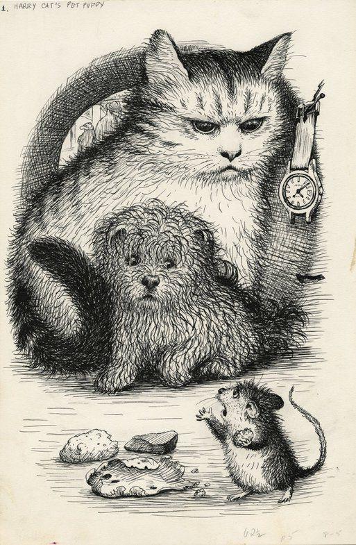 Мы с малых лет догадывались, что иллюстраторы детских книг - это сплоченная мафия халтурщиков, безнаказанно травмирующих детский вкус и психику. Гарт Уилльямс…