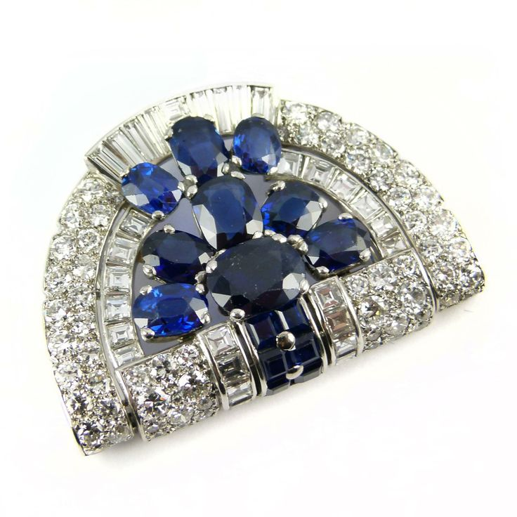 jewelry pinterest sapphire ancient and brooches blue images brooch on cartier vintage best gemstones ivory
