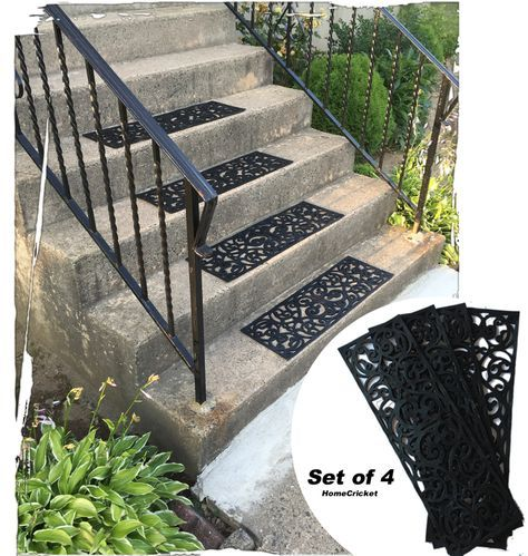 Best Traction Control Non Slip Rubber Unique Stair Tread Mats 400 x 300