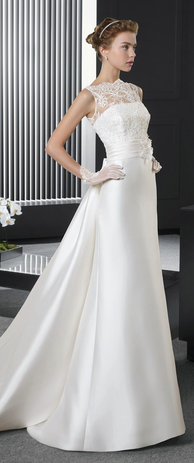 Two by Rosa Clara 2015 Bridal Collection - Part 2 - Belle the Magazine . The Wedding Blog For The Sophisticated Bride