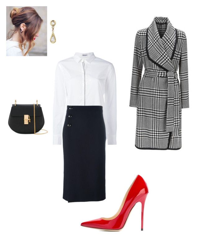 """""""Work"""" by cgraham1 on Polyvore featuring Brunello Cucinelli, Goat, ESCADA, Jimmy Choo, Chloé and Jacquie Aiche"""