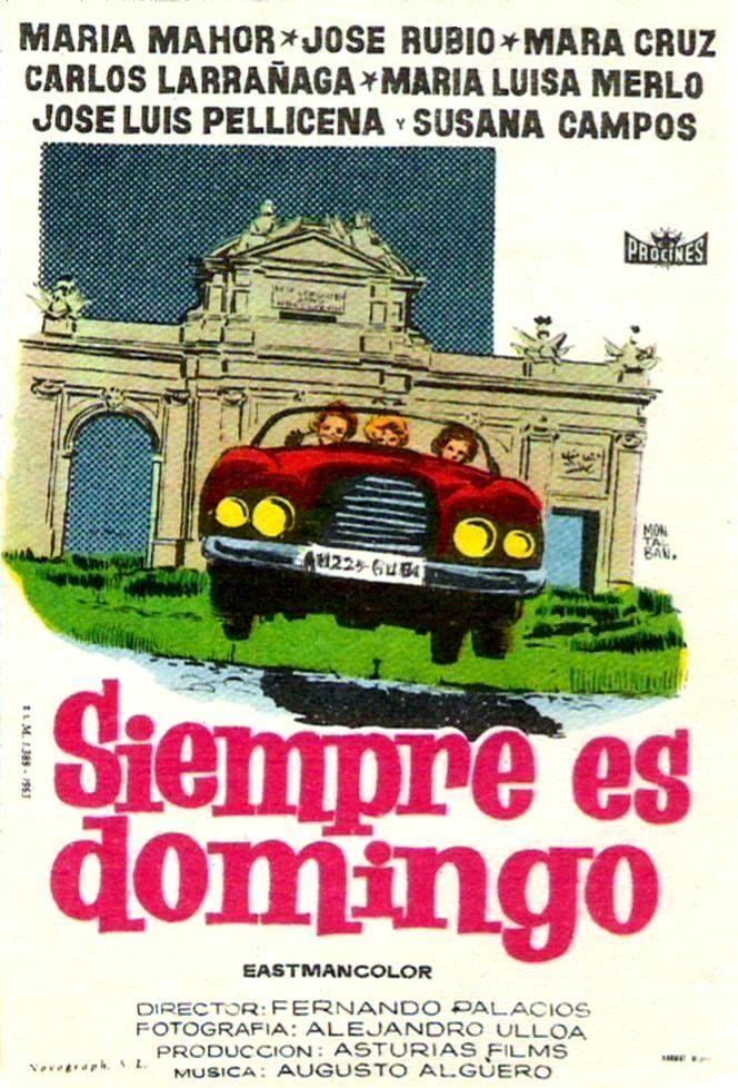 Siempre es domingo (1961) tt0055448 PP
