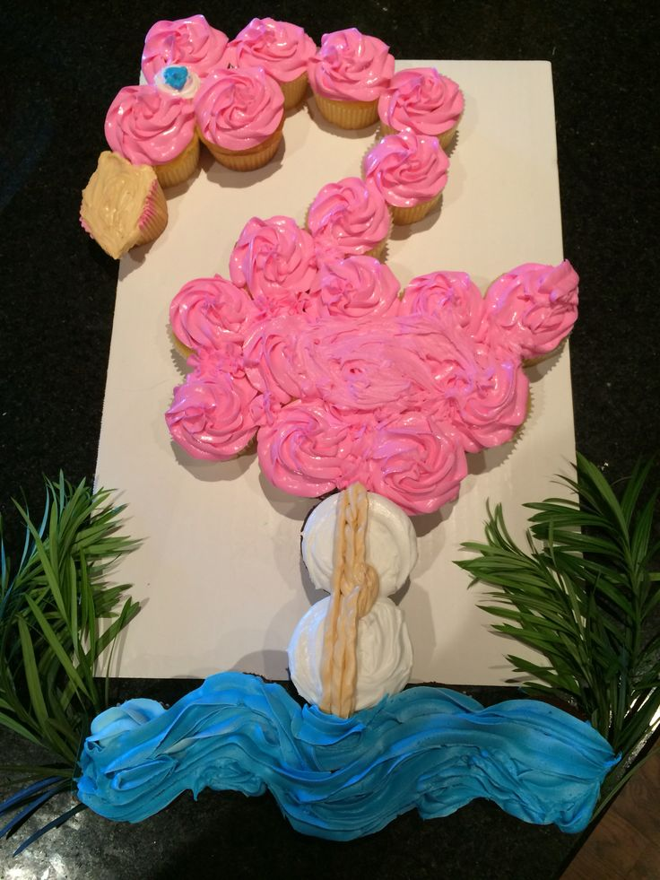 1000 Ideas About Flamingo Cupcakes On Pinterest