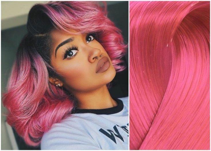 Haare rosa färben: 30 Ideen für rosa Haarfarben nach ...
