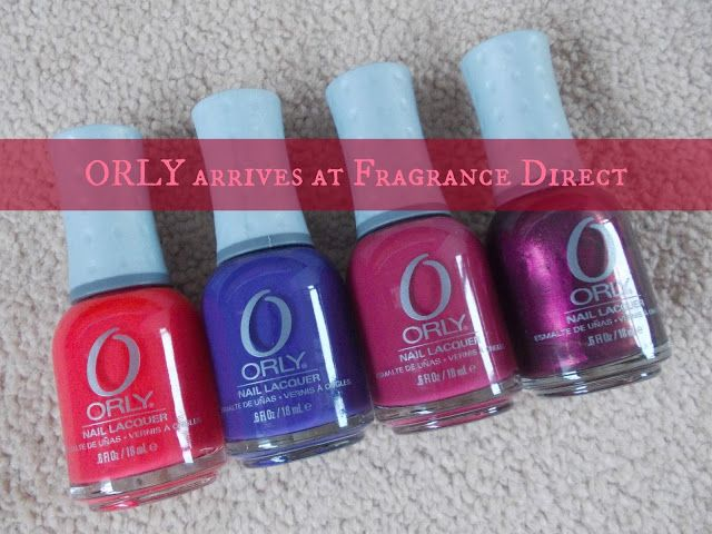 New In: ORLY at Fragrance Direct