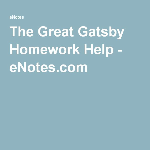 The Great Gatsby Homework Help - eNotes.com