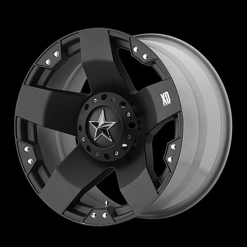 "20"" XD Rockstar Black Rims with 35x12 50x20 Nitto Trail Grappler MT Tires Wheels | eBay"