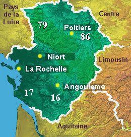 Welcome to the Poitou-Charentes region