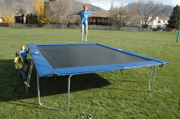 9x15 Frame Size Rectangle Trampoline Safety Pad 6x12