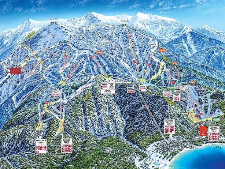 lake tahoe USA | Skiing in Lake Tahoe Ski Resorts | Kuoni Ski Holidays