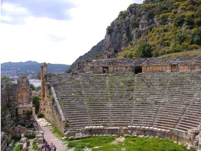 Myra amphitheatre-Kale(Demre-Antalya-Turkiye