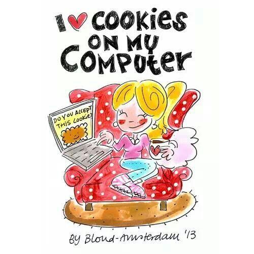 I love cookies on my computer -