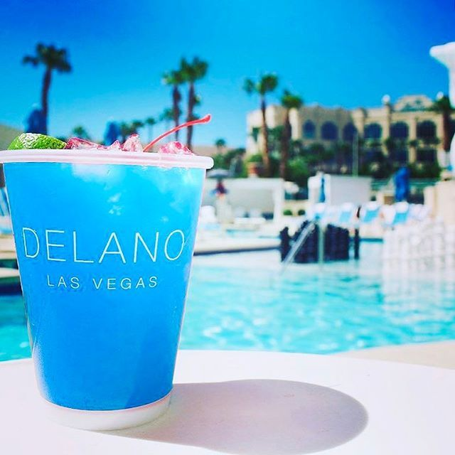Dip into relaxation while you sip on something cool by the pool. Reserve your Delano Beach Club cabana now.