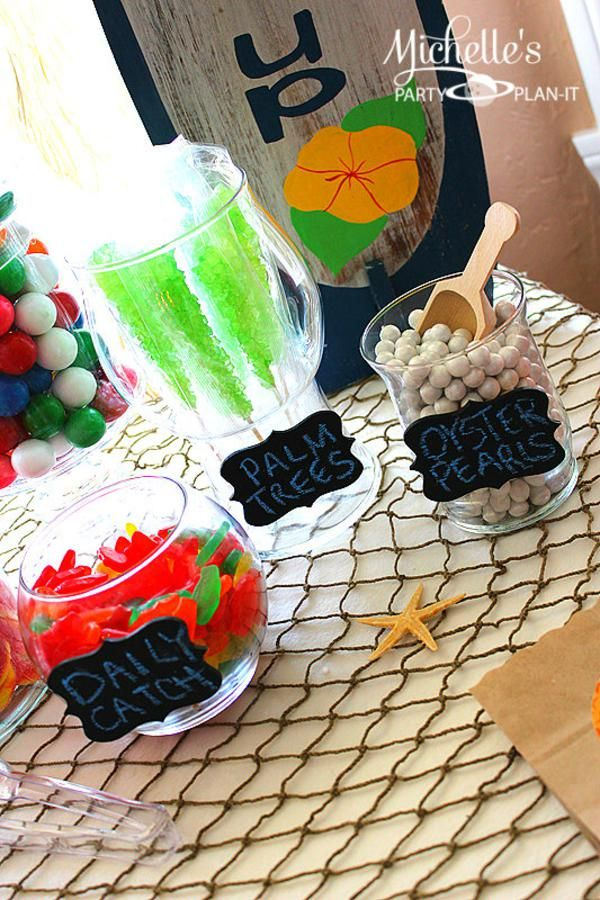 Hello Summer Surf Beach Boy Girl Party Planning Ideas Decorations