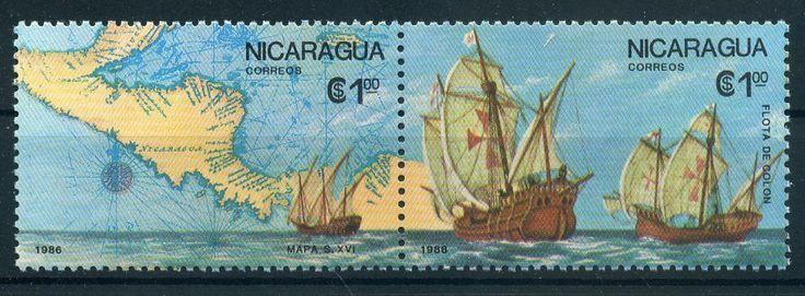 Nicaragua 2704 2705 Entdeckung Amerikas 620 | eBay