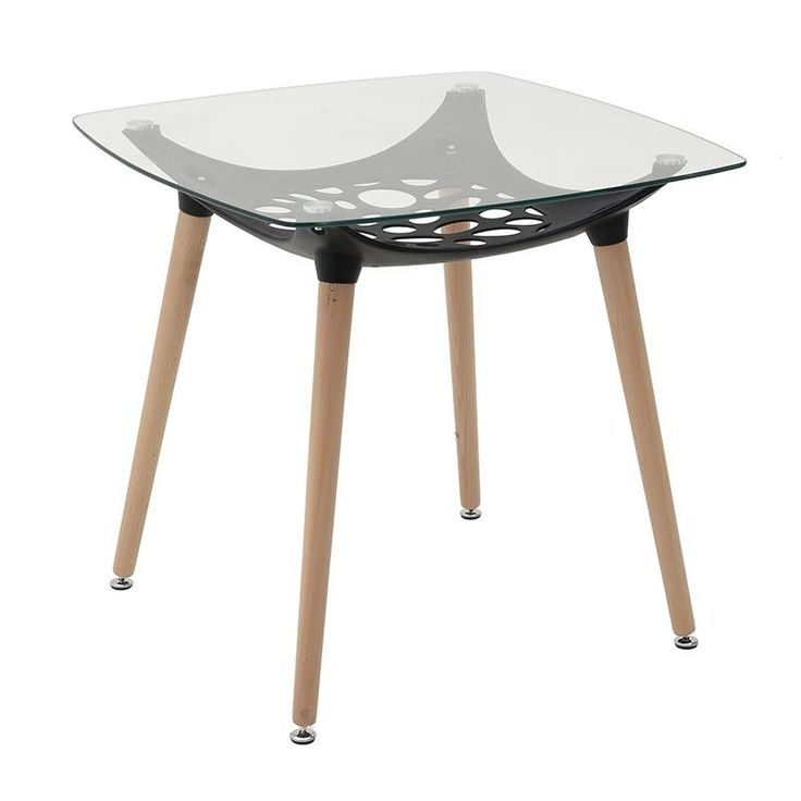 Glass Table - Dinner Tables - FURNITURE - inart