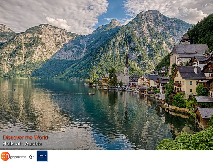 Its lakeside views and charming buildings make Hallstatt a picture-perfect town. So perfect, in fact, that China made an exact replica of the village to serve as high-end housing.  #onlinebookingsystem #FIT #Hallstatt #Austria #discovertheworld #instadaily #todayspost#view #viewoftheday #views #picoftheday#DorakHolding #GB #GlobalBeds