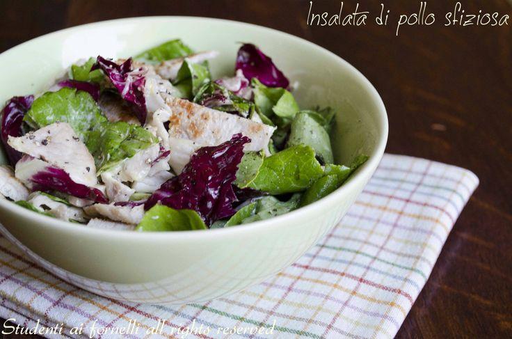 insalata di pollo e radicchio