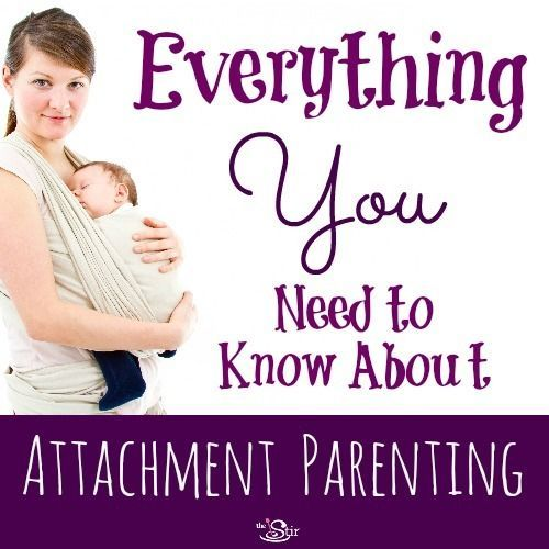 Great info here for moms interested in attachment parenting techniques! http://thestir.cafemom.com/baby/175087/what_is_attachment_parenting?utm_medium=sm&utm_source=pinterest&utm_content=thestir