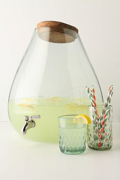 bubbled beverage dispenser #anthrofave #anthropologie