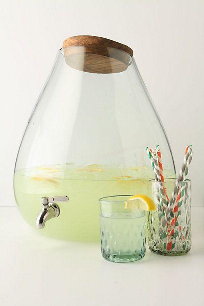 bubbled beverage dispenser #anthrofave #anthropologie