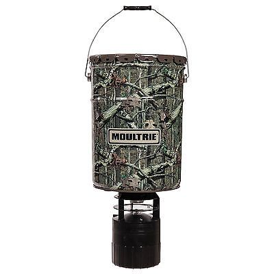 Moultrie 6.5 Gallon 360 Pro-Hunter Bucket Style Hanging Deer Feeder with Timer