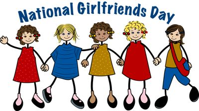 Today is National Girlfriends' Day!! Celebrate the  Fabulous, Fierce, Fun, GirlFriends that color your world :D  #nationalgirlfriendday