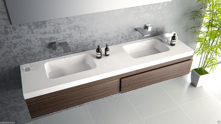 Details About 1800mm Stone Hand Wash Basin Vanity Sink