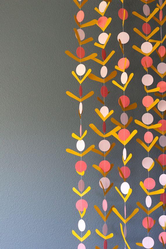 Diy Paper Party Decorations 158 best craft   garlands images on pinterest   garlands, diy
