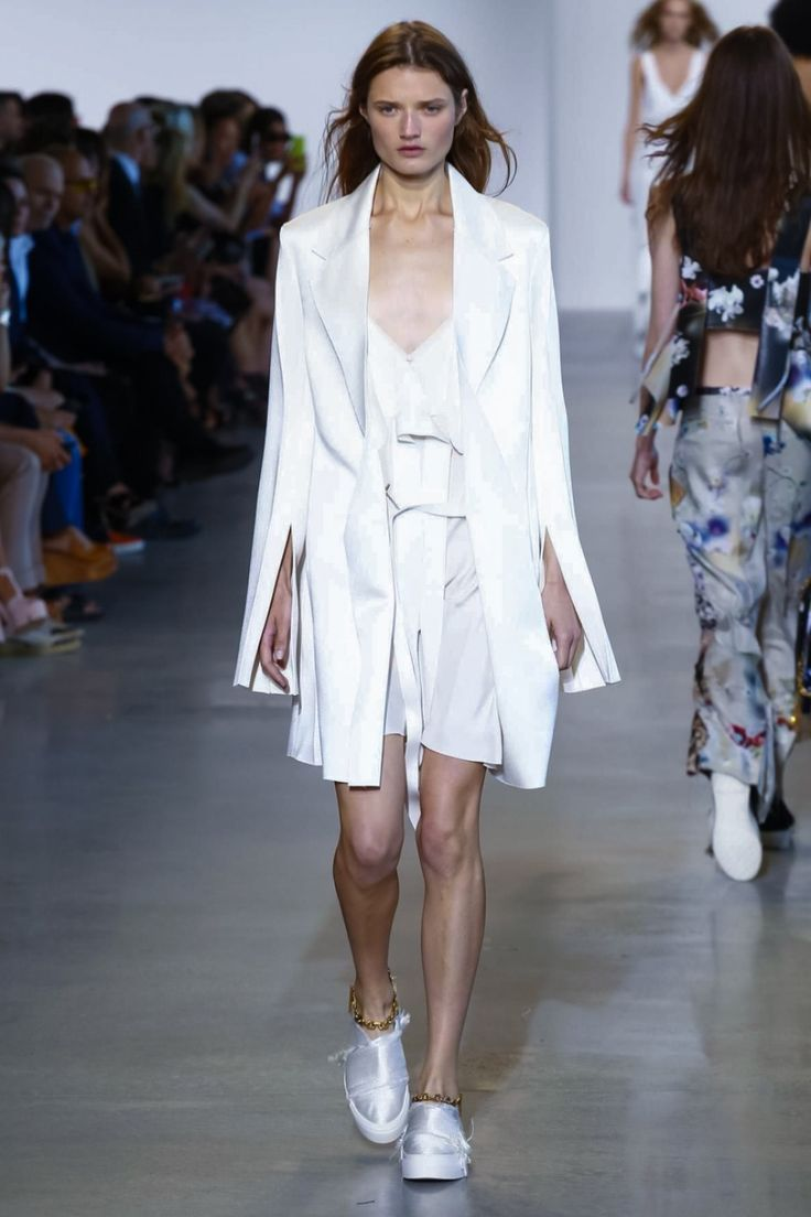 Calvin Klein Spring/Summer 2016 collection * The Morning after* designed by Francisco Costa – New York Fashion Week