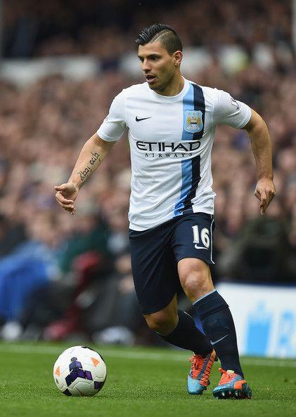 "Sergio ""Kun"" Agüero of Manchester City and Argentina."