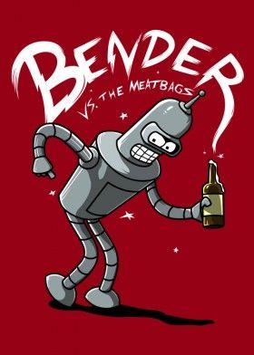 bender beer futurama funny scott pilgrims zoiberg parody movie tv pop culture robot