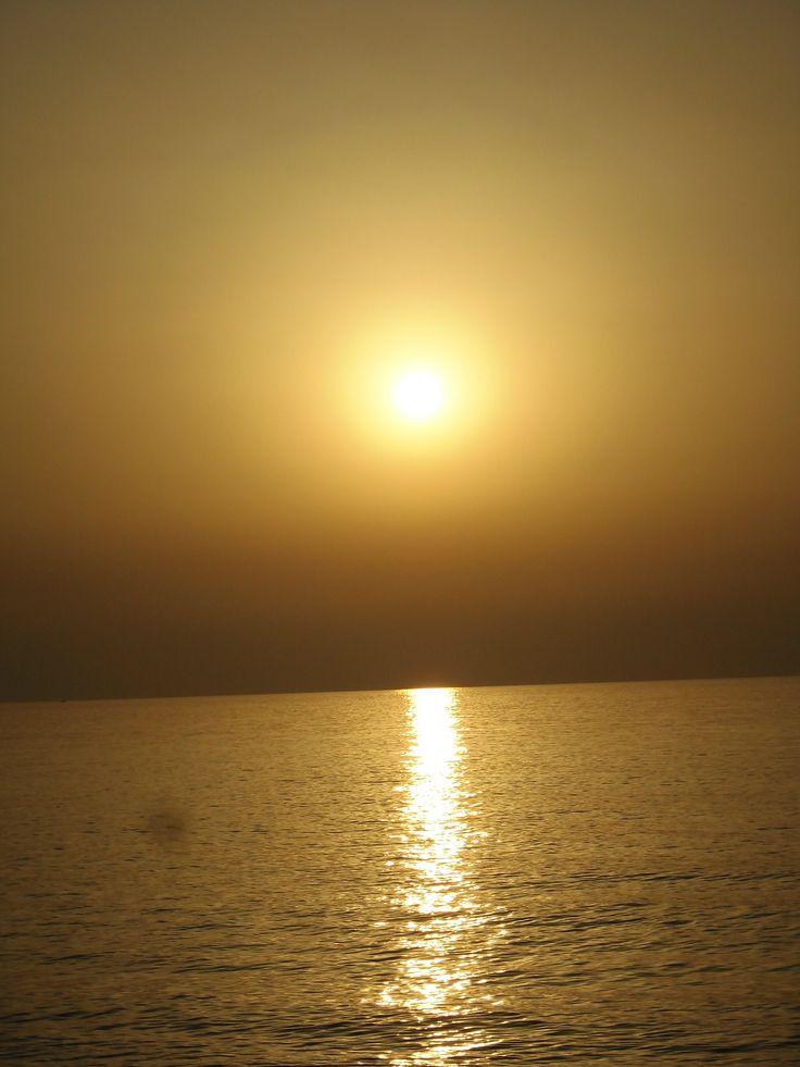Puesta de sol desde Cabo Tres Forcas.