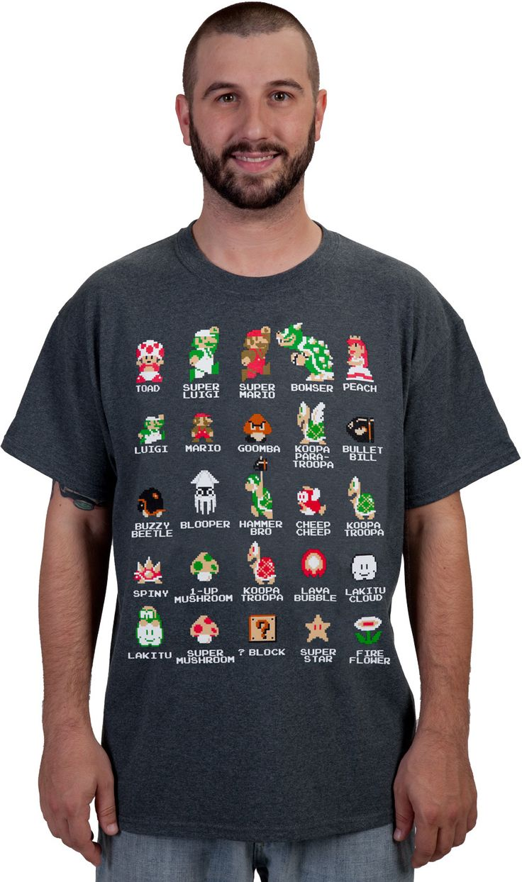 17 Best images about Super Mario Bros Apparel on Pinterest   New ...