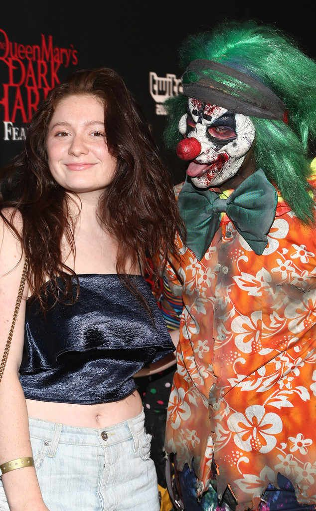 Emma Kenney: Stars Celebrate Halloween 2017