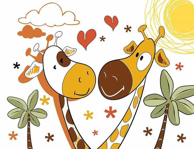 Prostírání GIRAFFE LOVE|35x45